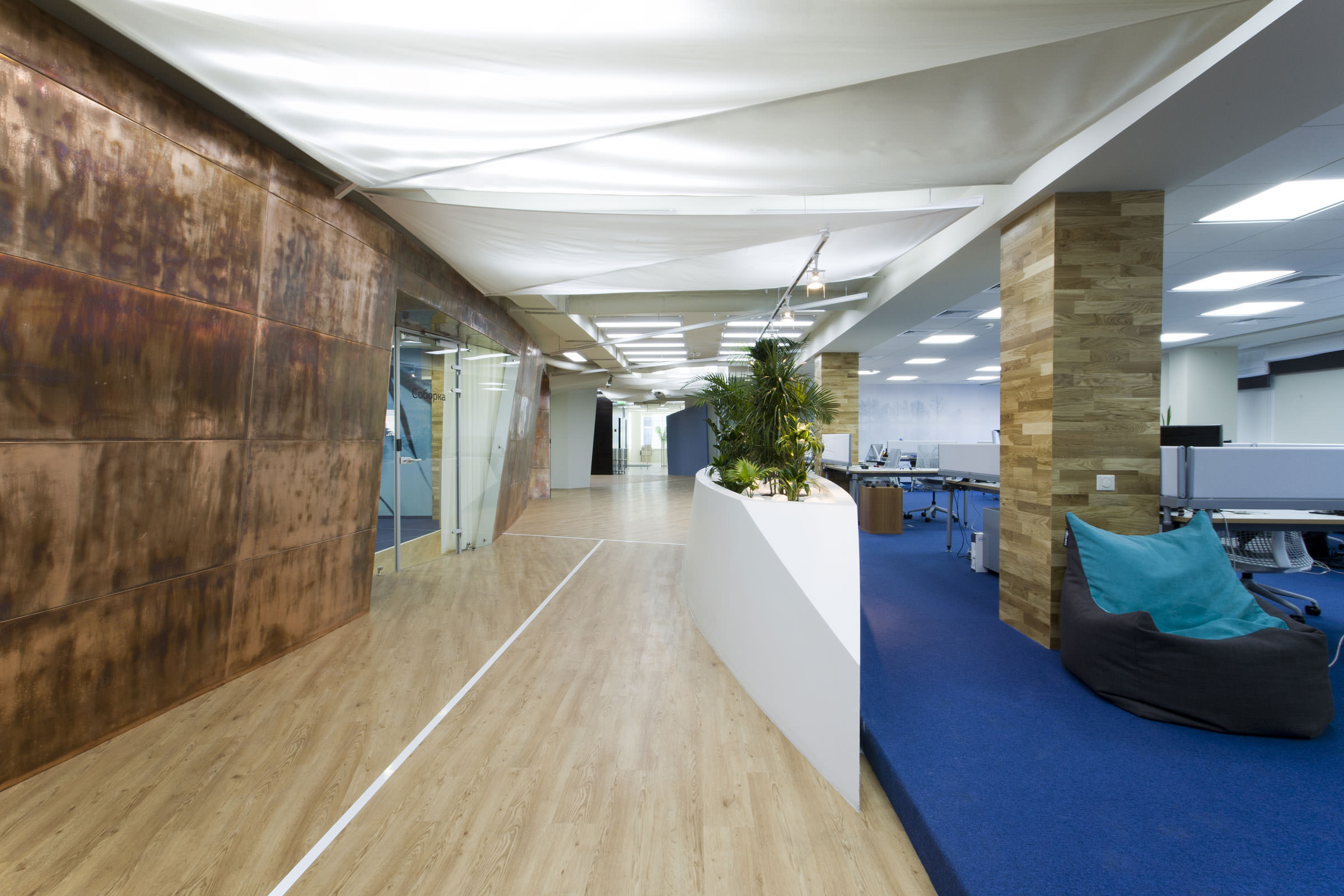 Yandex odessa office za bor architect